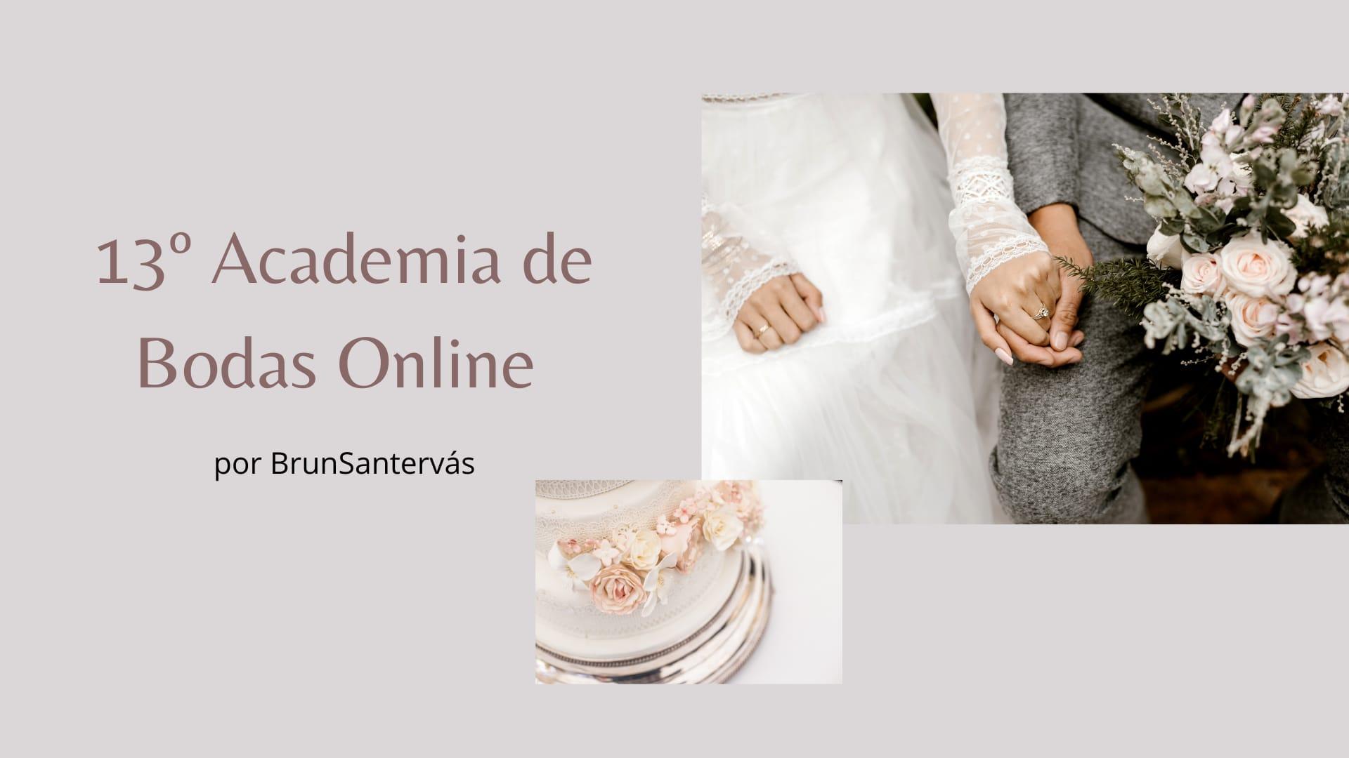 13º edición Academia de Bodas Online